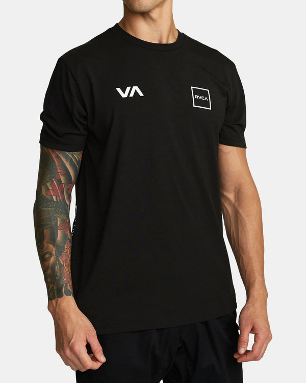 RVCA Lane T-shirt Black