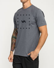 VA Corners Performance T-Shirt Grey