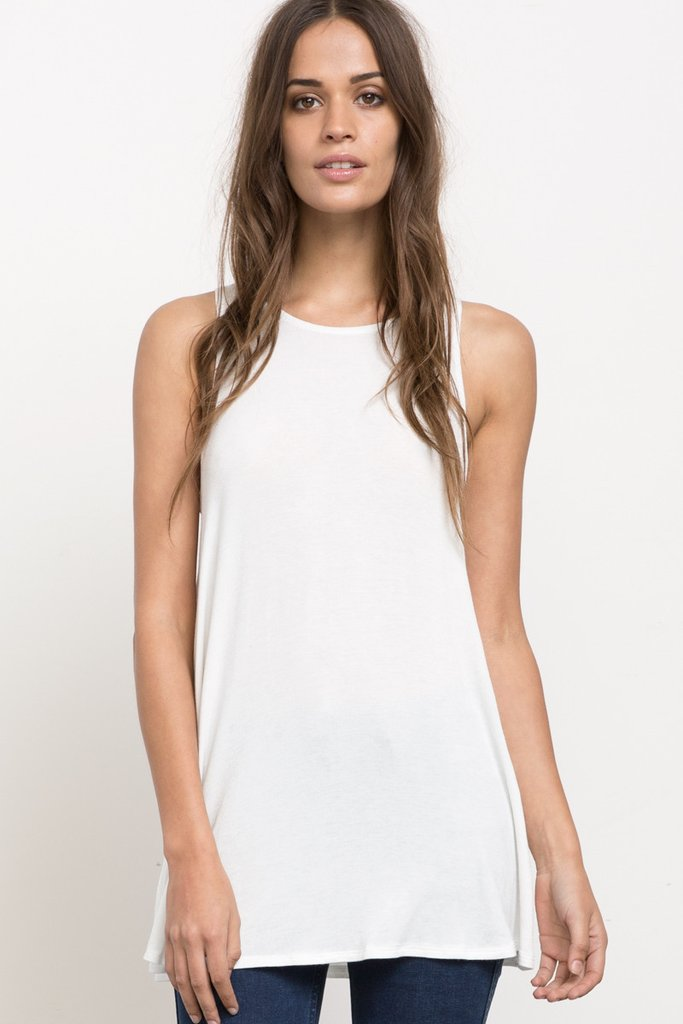 Label Tunic Tank Top