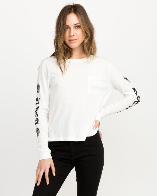 JeanJean Rose & Roses Long Sleeve T-shirt