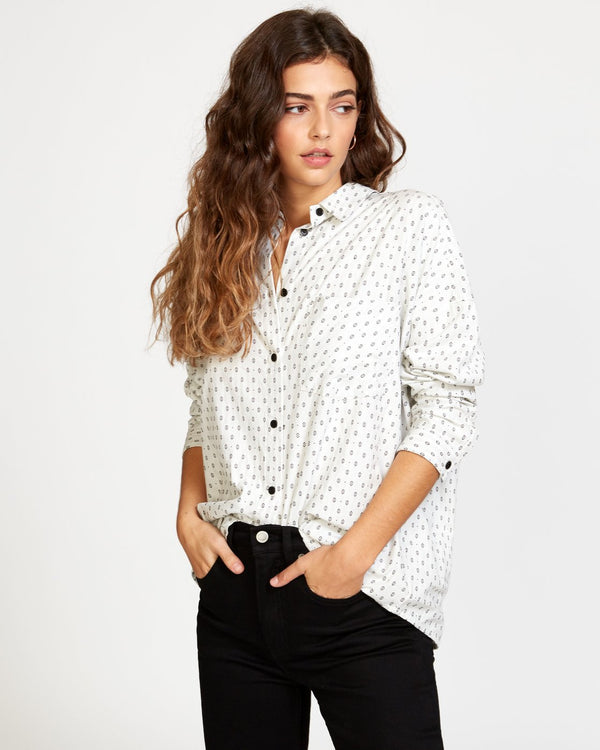 Hera Oversized Button-Up Shirt