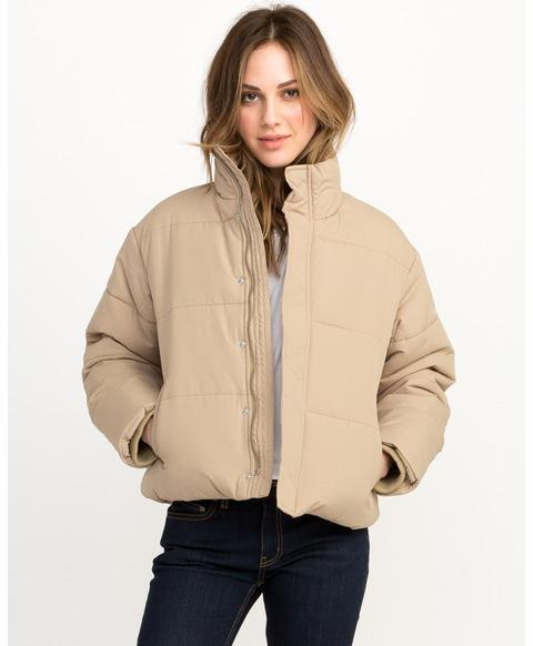 Eezeh Puffer Cropped Jacket