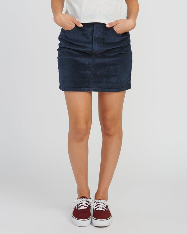 Molly Corduroy Mini Skirt
