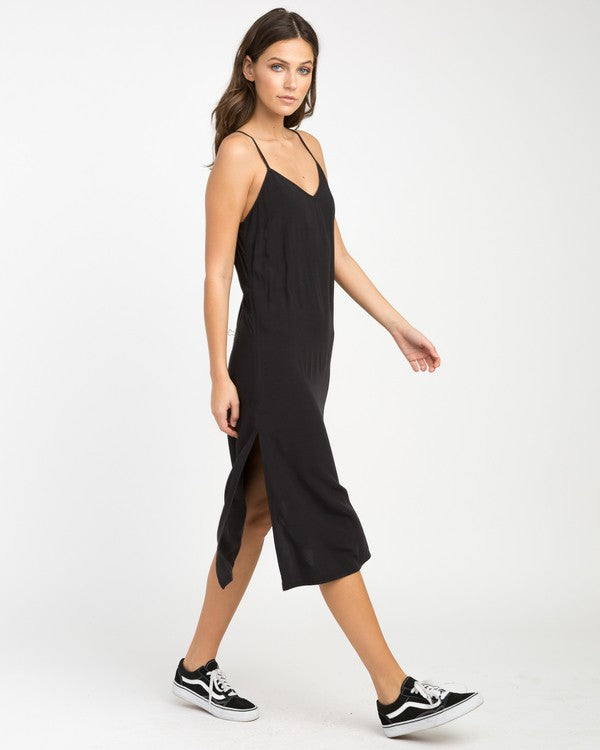 Chasing Shadows Midi Dress