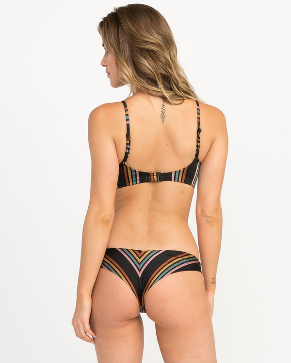 Side Line Striped Cheeky Bottoms