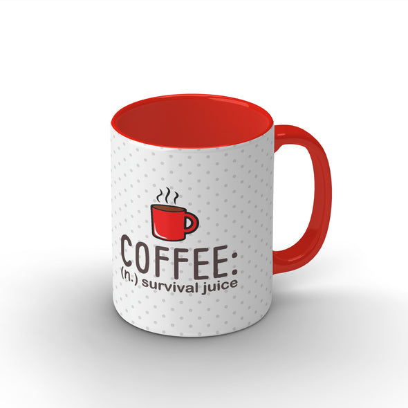 Coffee : Survival Juice Mug - POPCON