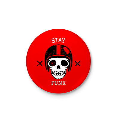 Stay Punk Badge