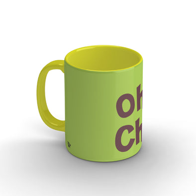 Oh! Chai Yellow Mug