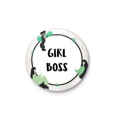 Girl Boss Badge
