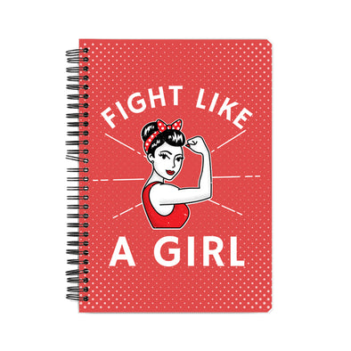 Fight Like A Girl Notebook