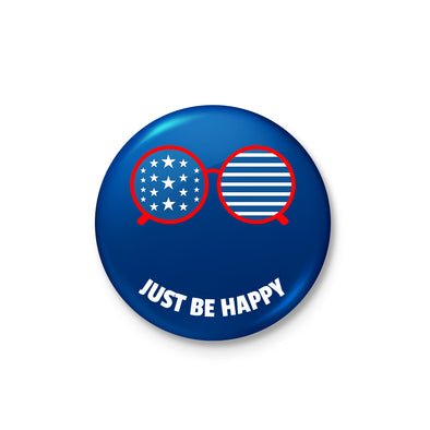 Be Happy Badge - POPCON