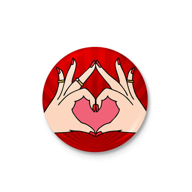 Love Heart Badge