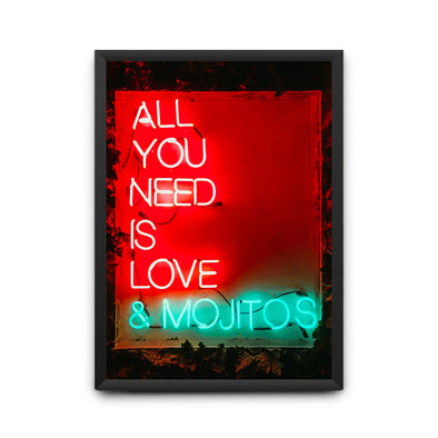 All You Need Is Love & Mojitos Poster - POPCON