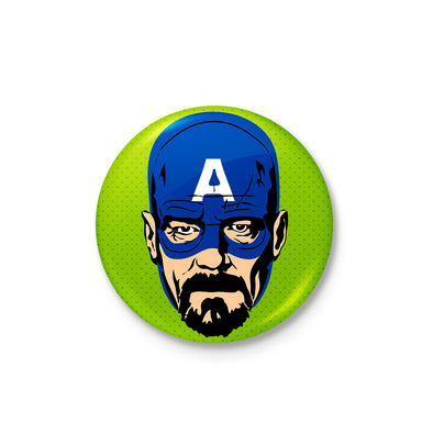 Captain Walter White Badge - POPCON