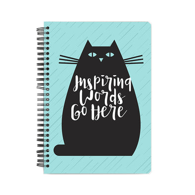 Inspiring Words Notebook