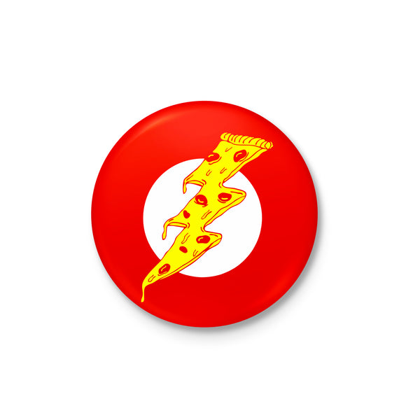 Pizza Flash Badge