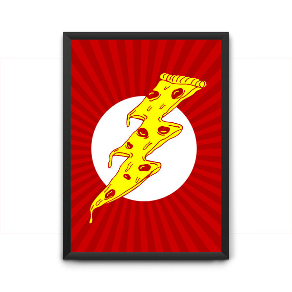 Pizza Flash Poster