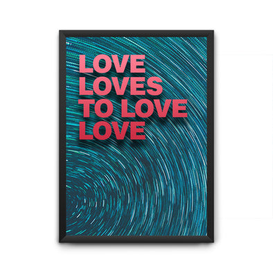 Love Loves Poster