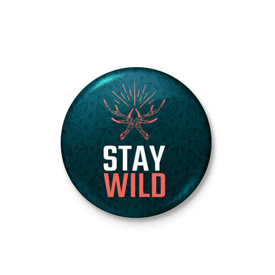 Stay Wild Badge