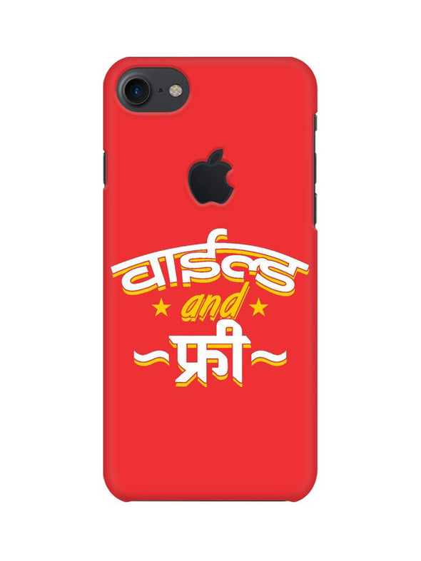 Wild And Free Phone Cover With Apple Cut - iPhone 7