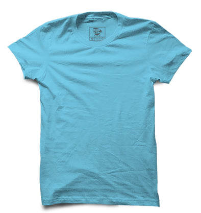 Sky Blue Half Sleeve T-shirt