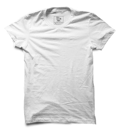 White Half Sleeve T-shirt