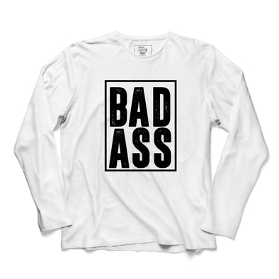 Bad Ass Printed Full Sleeve T-shirt - POPCON
