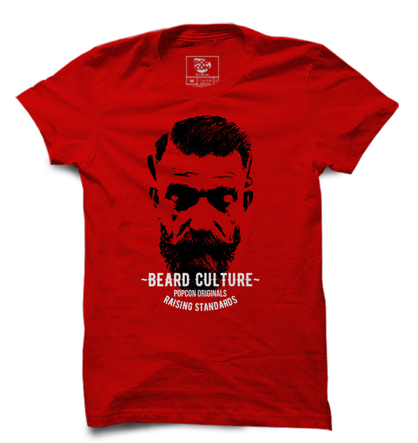Beard Culture Printed Half Sleeve T-shirt - POPCON