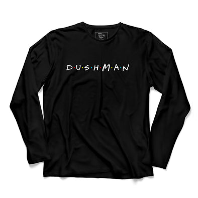 Dushman Printed Full Sleeve T-shirt - POPCON
