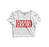 Error Printed Crop Top - POPCON