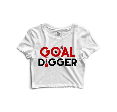 Goal Digger Printed Crop Top