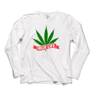 High Life Printed Full Sleeve T-shirt