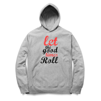 Let The Good Times Roll Printed Hoodie