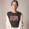 Dope Printed Crop Top - POPCON