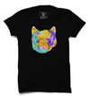 Dog Face Printed Half Sleeve T-shirt - POPCON