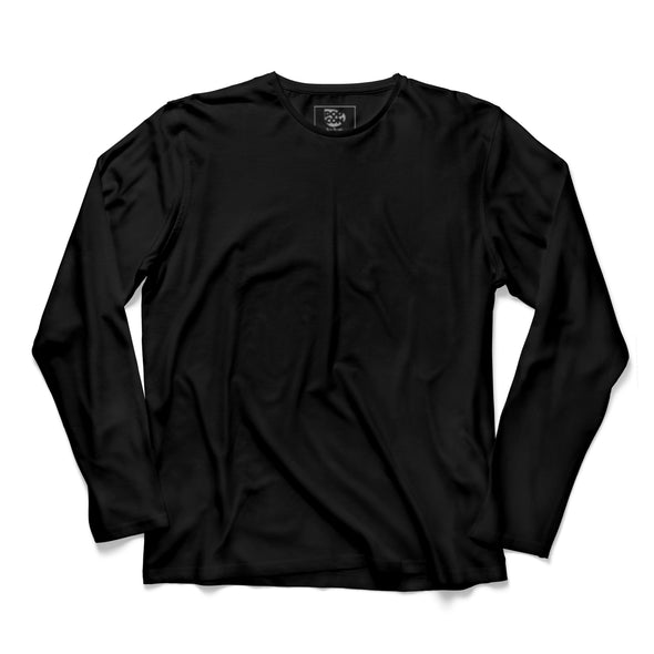 Black Full Sleeve T-shirt - POPCON
