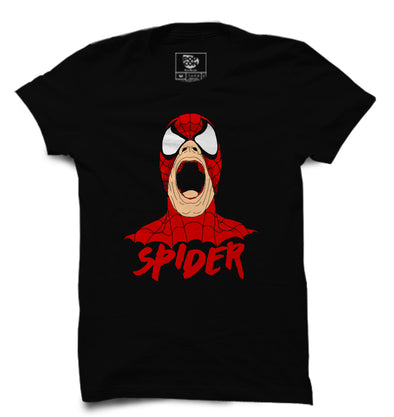 Spider-Man Printed Half Sleeve T-shirt