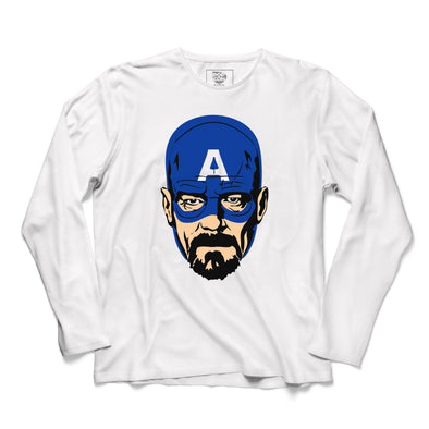 Walter White Printed Full Sleeve T-shirt