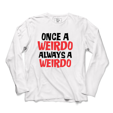 Weirdo Printed Full Sleeve T-shirt