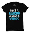 Weirdo Printed Half Sleeve T-shirt