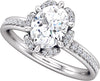 Petal Halo (6-prong) Engagement Ring