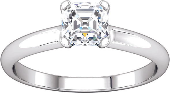 Solitaire (4-prong) Engagement Ring II