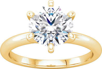 Solitaire (6-prong) Engagement Ring