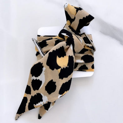 Apple-Watch Scarf Bands - Leopard