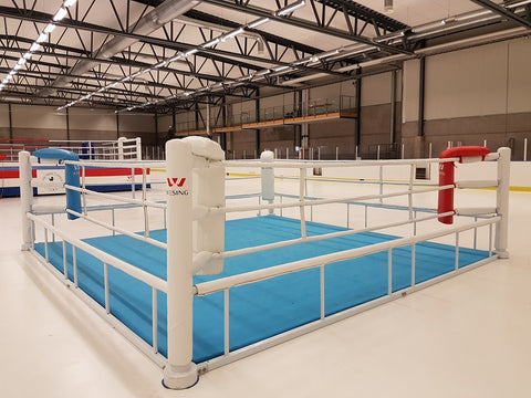 Boxing ring floor type
