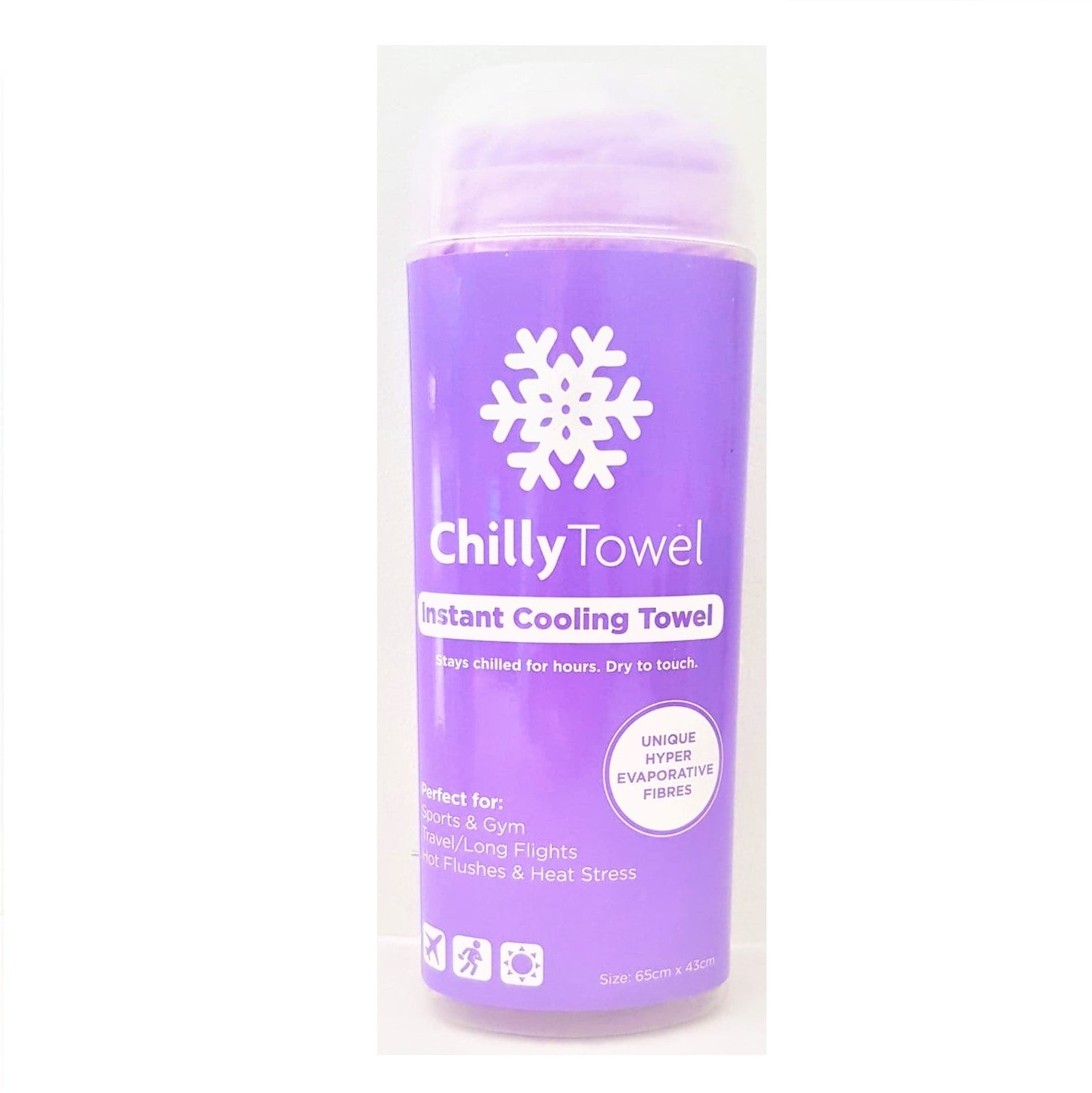 Chilly Towel - Lavender Purple