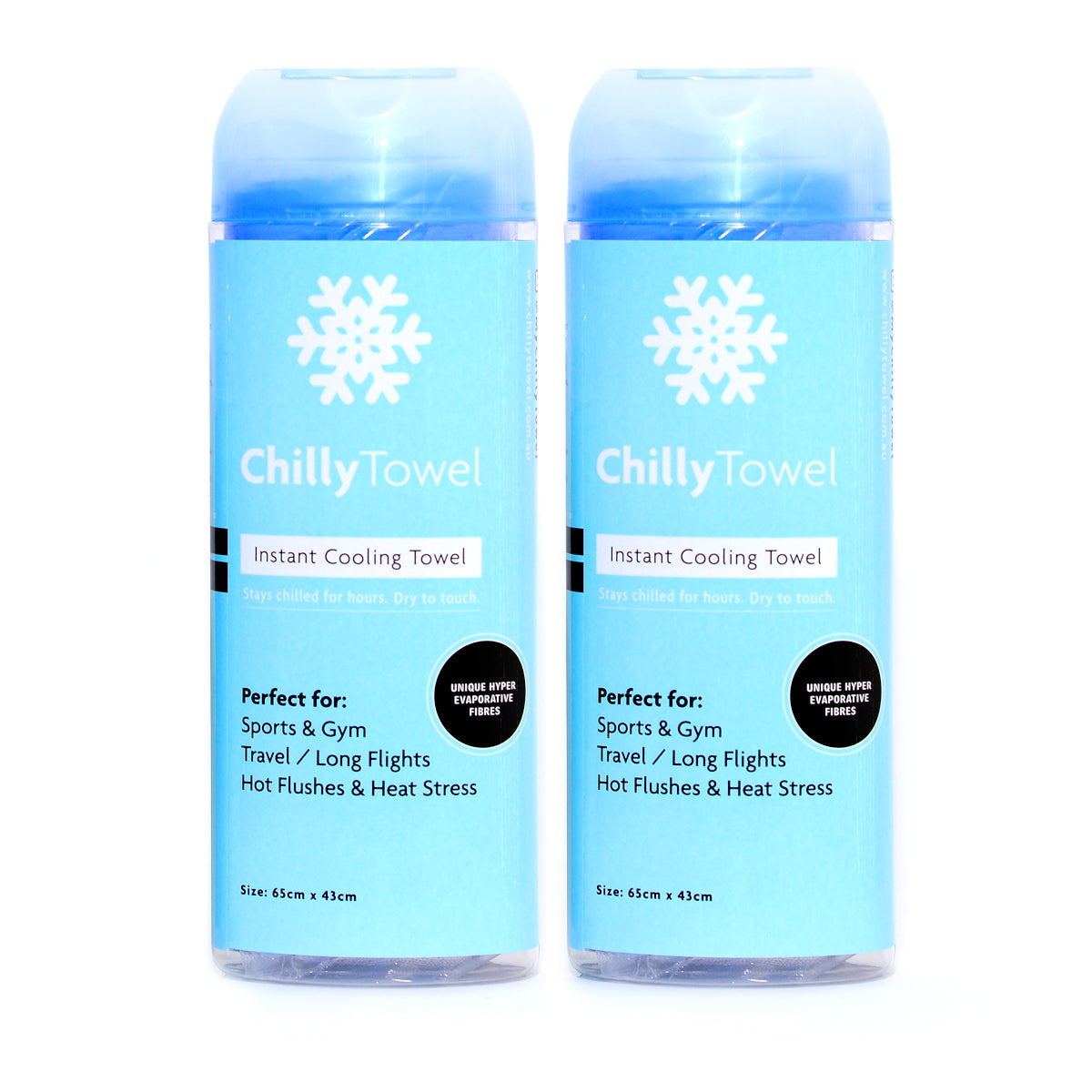 Chilly Towel - Cool Blue (Duo Pack)