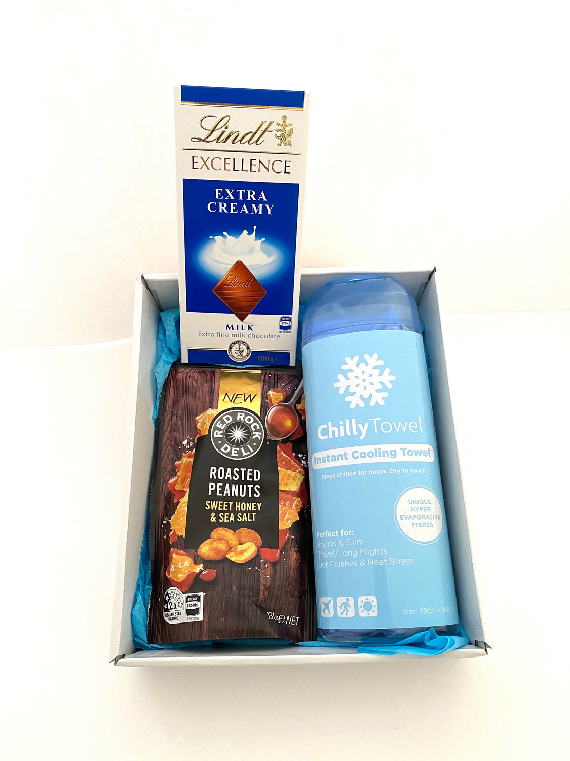 Fathers Day Gift Box Cool Blue