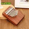 Image of Mbira Kalimba 8 Key Finger Piano Rosewood