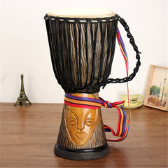 African Djembe Hand Drum 10 Inch (25 cm) Head